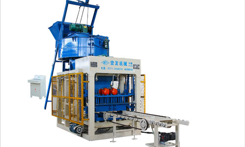 Cement Block Plant Machines : Brick making machine