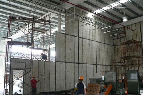 Lightweight Wall Panels Construction