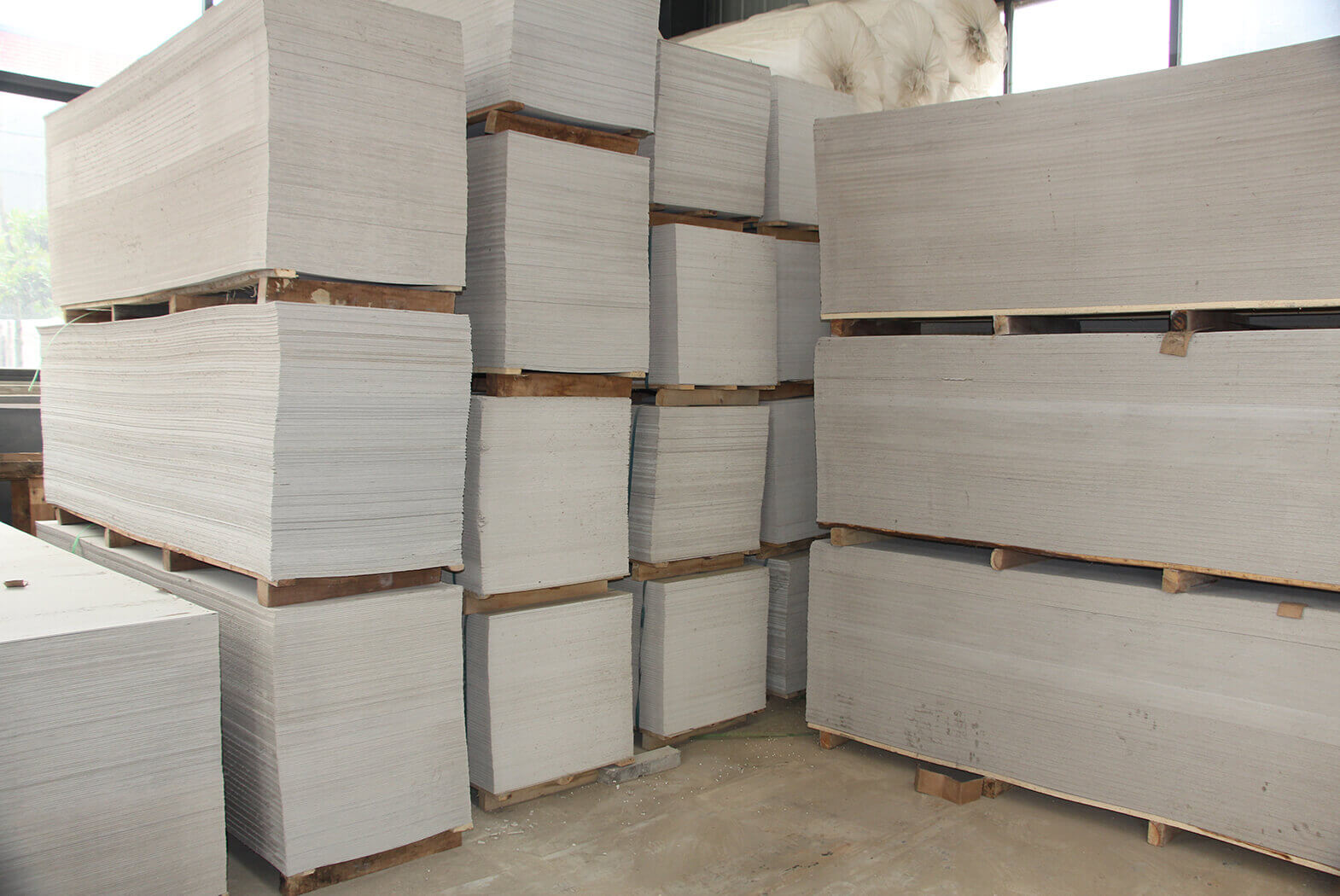 Calcium Silicate Board Home : Brick making machine